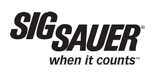 SIG SAUER when it counts